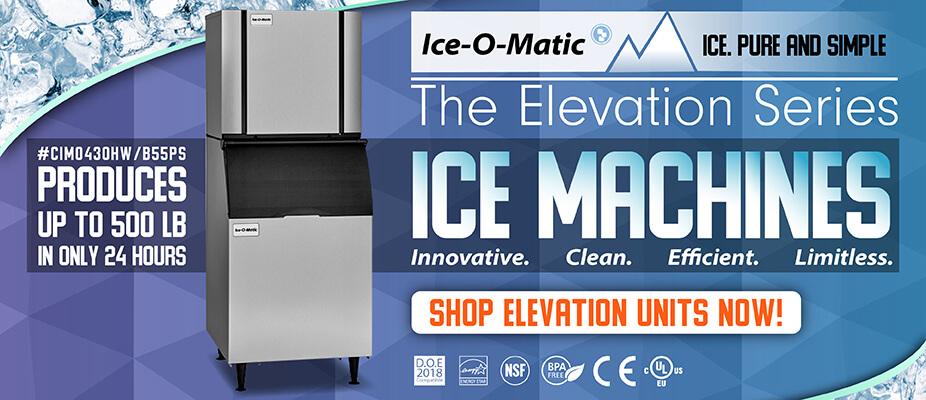 Ice-O-Matic Elevation Ice Machines