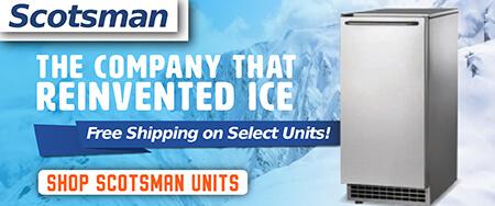 Ice-O-Matic Undercounter Ice Machines