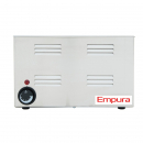 "Empura E-FW-1500W 4/3 Size Countertop Food Warmer with 30"" Long Exterior - 120V, 1500W"