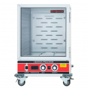 Empura E-HPIC-3414 Half Size Heated Proofer and Holding Cabinet with 1 Clear Polycarbonate Door - Fully Insulated