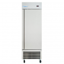"""Empura E-KB27R 26.8"""" Reach In Bottom-Mount Stainless Steel Refrigerator With 1 Full-Height Solid Door - 17.7 Cu Ft, 115 Volts"""
