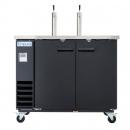 Empura E-KDD2-2 Direct Draw Beer Dispenser 2 Door - 10.45 Cu Ft, 2 Tap