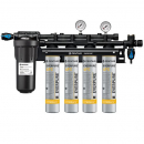 Everpure EV9328-44 Coldrink 4-4FC 0.2 Micron and 10 GPM Water Filtration System with Pre Filter