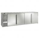 "Perlick BBS108_SSLSDC 108"" Back Bar Refrigerator, Stainless Steel Doors and Left Condensing Unit"