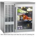 """Perlick BBS36_SSRSDC 36"""" Back Bar Refrigerator, Stainless Steel Door and Right Condensing Unit"""
