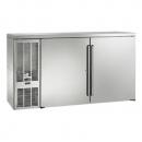 "Perlick BBS60_SSLSDC 60"" Back Bar Refrigerator, Stainless Steel Doors and Left Condensing Unit"