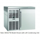 """Perlick BBSLP36_SSRSDC 36"""" Low Profile Back Bar Refrigerator, Stainless Steel Door and Right Condensing Unit"""