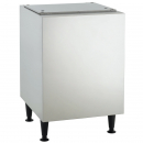 """Scotsman HST21B-A Stainless Steel 21-1/2"""" Wide Ice Machine Stand For Meridian HID525 Or HID540 Ice And Water Dispenser"""