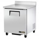 """True TWT-27F-HC 27"""" Single Door Worktop Freezer with Hydrocarbon Refrigerant"""