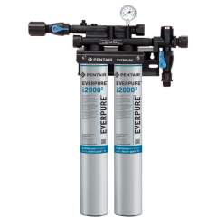 Everpure EV932402 INSURICE Twin i2000-2 Ice Filtration System 0.5 Micron and 3.34 GPM