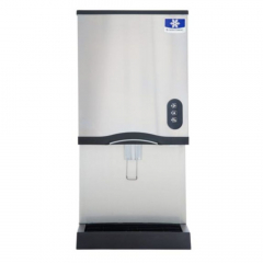 Manitowoc CNF0201AL - 315 LB Air-Cooled Countertop Nugget Ice Machine and Dispenser - Lever Activated