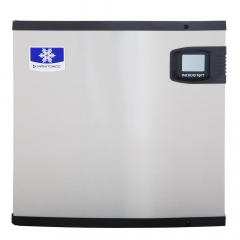 "Manitowoc IYT0420A Indigo NXT Series 22"" Air Cooled Half Size Cube Ice Machine - 120V, 460 lb."