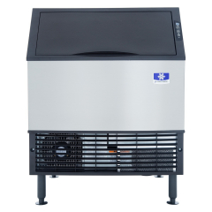 """Manitowoc UYF0310A NEO Series 30"""" Air Cooled Undercounter Half Size Cube Ice Machine with 100 lb. Bin - 290 lb."""