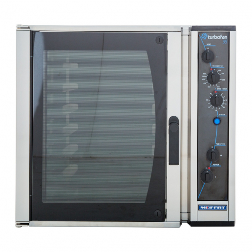 Moffat E35 34 5 8 Turbofan Full Size Electric Countertop Convection Oven With Porcelain Oven Chamber 208v