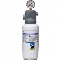 3M BEV140 Single Cartridge Cold Beverage Water Filtration System - .2 Micron Rating and 2.1 GPM