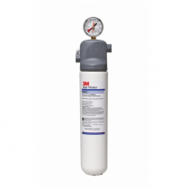 3M ICE120-S Single Cartridge Ice Machine Water Filtration System - 0.5 Micron Rating and 1.5 GPM