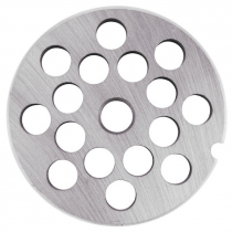 "Empura 12P2-1-2 1/2"" Hole Meat Grinder Plate #12"