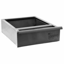 "Empura BPD-1620-24T 16"" x 20"" Fully Enclosed Drawer With Roller Slides For 24"" Wide Worktables"