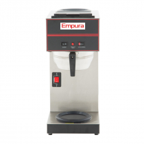 Empura E-CBS-2 Pourover Coffee Brewer with 1 Upper and 1 Lower Warmer