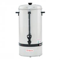 Empura E-CP-100 100 Cup Stainless Steel Coffee Urn / Percolator - 120V, 1350W