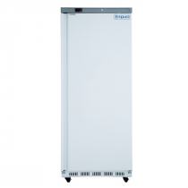 """Empura E-KB25WF 30.6"""" Reach In Bottom-Mount White Upright Freezer With 1 Full-Height Solid Door - 110 Volts"""