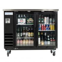 "Empura E-KBB48-2G-24 48"" Refrigerated Back Bar Storage Cabinet - 12.5 Cu Ft"