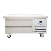 "Empura E-KCBR48 50"" 2 Drawer Self-Contained Refrigerated Chef Base"