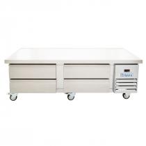 "Empura E-KCBR72 74"" 4 Drawer Self-Contained Refrigerated Chef Base"