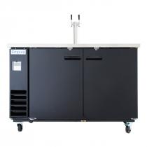 Empura E-KDD3-1 2 Door Direct Draw Beer Dispenser - 14.16 Cu Ft, 1 Tap