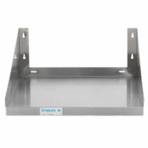 Empura E-MS-1824 - 18 Inch by 24 Inch Stainless Steel Microwave Shelf