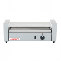 Empura E-RG-05 12 Hot Dog Roller Grill with 5 Rollers - 110V, 750W