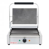 Empura E-SG-811E/F Single Flat Commercial Panini Sandwich Grill - 120V, 1750W