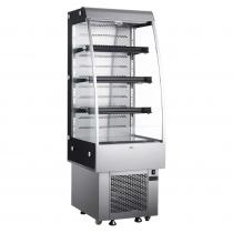Empura E-VACM-250 Black Diamond Refrigerated Vertical Air Curtain Merchandiser - 250 Liter Storage Volume