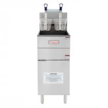 "Empura EGF-40/50_LP Liquid Propane 15 1/2"" Commercial Gas Fryer with 40 lb Capacity, 90,000 BTU"