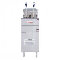 Empura EGF-45/55_NAT Natural Gas Commercial Gas Fryer with 50 lb Capacity