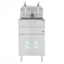 """Empura EGF-70/80_NAT Natural Gas 21"""" Commercial Gas Fryer with 80 lb Capacity, 150,000 BTU"""