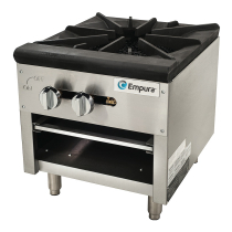 Empura EMHP-1HD Heavy Duty Stock Pot Gas Range With 1 Burner, 80,000 BTU