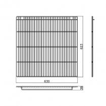 Empura W0402194 Coated Wire Shelf Middle Shelf for ETM-72 and ETM-72F Refrigeration