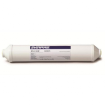 """Everpure EV910076 5 Micron Carbon 15"""" Block In-Line Filter With 5 Micron Rating And 1 GPM Flow Rate"""