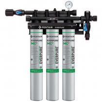 Everpure EV927503 QC71 Triple MC2 0.2 Micron and 5 GPM Filtration System