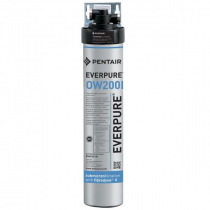Everpure EV927570 QL2-OW200L Drinking Water Filtration System With 0.5 Micron Rating And 0.5 GPM Flow Rate