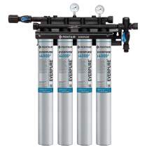 Everpure EV932504 INSURICE Quad i4000-2 Ice Filtration System 0.5 Micron and 6.68 GPM