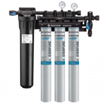 Everpure EV932523 INSURICE Triple PF-i4000-2 Ice Filtration System with Pre-Filter 0.5 Micron and 5 GPM