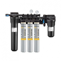 Everpure EV932973 High Flow CSR Triple-7FC Water Filtration System with Pre-Filter With 0.2 Micron Rating And 7.5 GPM Flow Rate