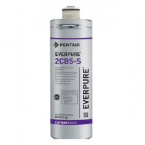 Everpure EV961722 2CB5-S Water Filter Replacement Cartridge With 5.0 Micron Rating And 1.0 GPM Flow Rate