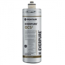 Everpure EV961802 OCS2 Water Filter Replacement Cartridge With 0.5 Micron Rating And 0.5 GPM Flow Rate