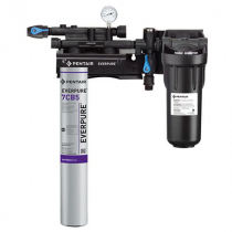 Everpure EV979721 Kleensteam II Single Water Filter System With 2.5 GPM Flow Rate