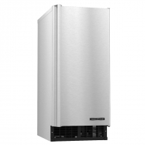 """Hoshizaki C-80BAJ 14-7/8"""" Air Cooled Undercounter Cubelet Ice Machine With 80 LB Per Day Production And 22 LB Storage, 115 Volts"""