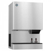 "Hoshizaki DCM-500BAH-OS 618 lb 26"" Wide Air-Cooled Cubelet-Nugget Style Ice Machine and Water Dispenser w/ Bin"