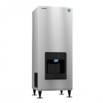 "Hoshizaki DKM-500BAJ 545 lb 30"" Wide ENERGY STAR Air-Cooled Crescent Cube Ice Machine / Dispenser"